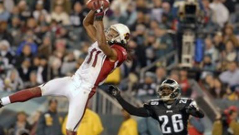 NFL star Larry Fitzgerald attributes his star performance to Vision Therapy.