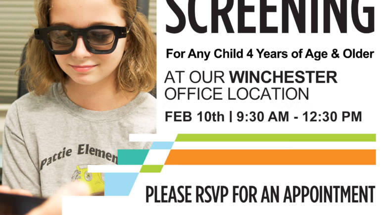 Schedule your FREE VISION SCREENING today!