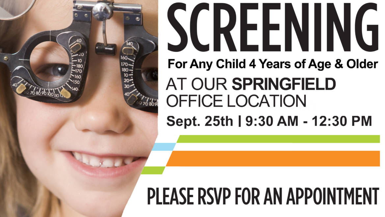 Wednesday, Sept 25th 2019 – Springfield Office Screening